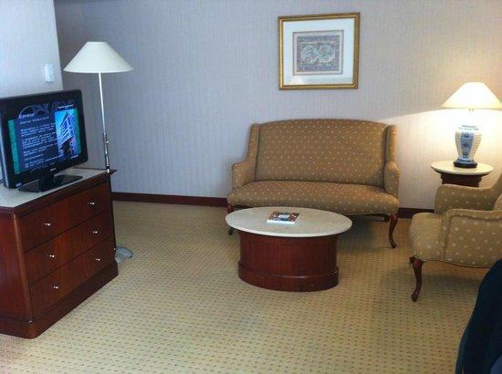 Evergreen Laurel Hotel: Coin salon