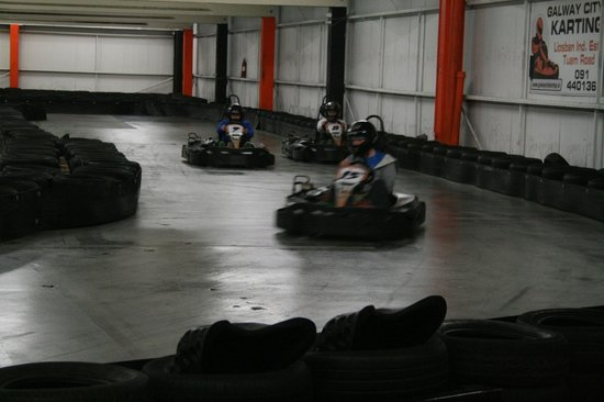 Galway City Karting : Get outta my way!