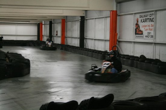 Galway City Karting : 66 years young granny. :)