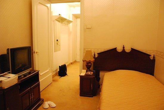 Budapest Hotel : single room