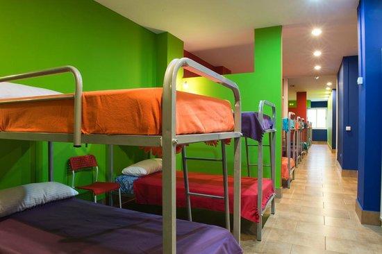 Tourist Hostel O Camino das Estrelas: Literas