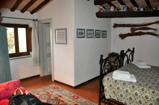Agriturismo Castello della Paneretta: Bedroom