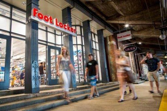 b6b750bf19 Underground Atlanta: Shop national retailers like Foot Locker, Kids  Footlocker & Lids.