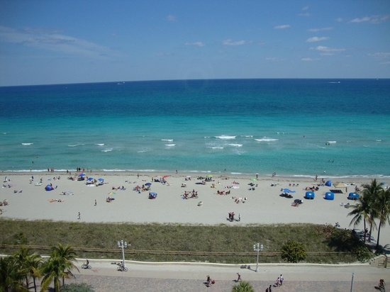 Hollywood Beach Tower: our view from our room
