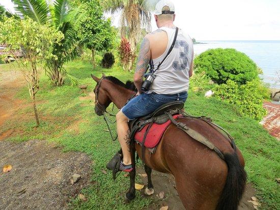 Casita Corcovado: Horseback tour