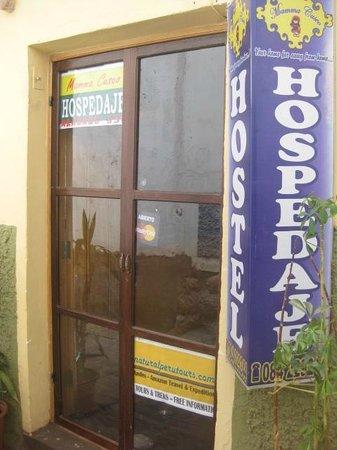 Mamma Cusco Hostel: LETRERO