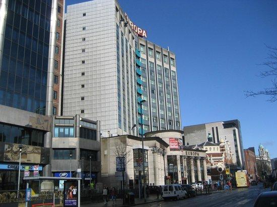 Europa Hotel - Belfast: From Gt. Victoria Street