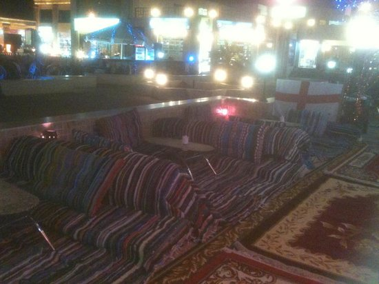 Alexandro Cafe: Relax in our Bedouin stations
