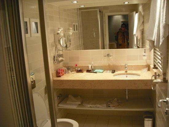 เอเทรี่ยม แฟชั่น โฮเต็ล: Bathroom