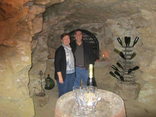 Le Clos de la Garde: Cave