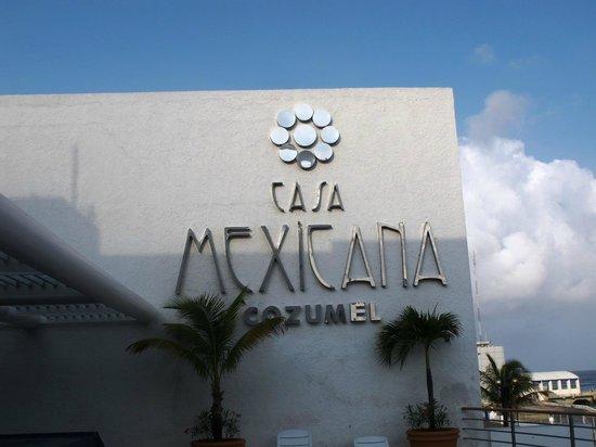 Casa Mexicana Cozumel: Hotel logo