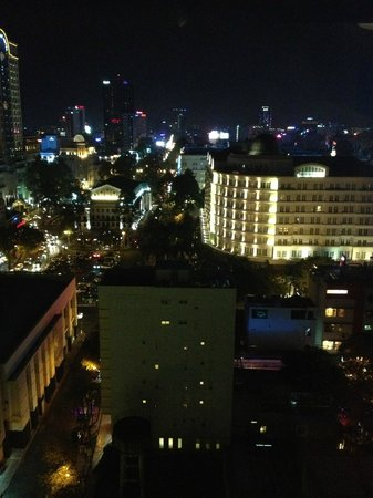 Nhat Ha3: View from rooftop bar