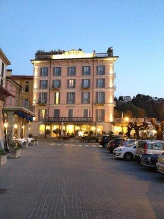 Hotel Metropole Bellagio: вид сбоку