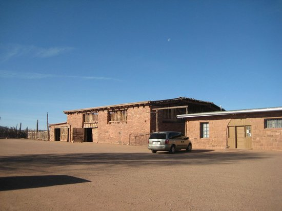 Hubbell Trading Post: The outside of the buildings
