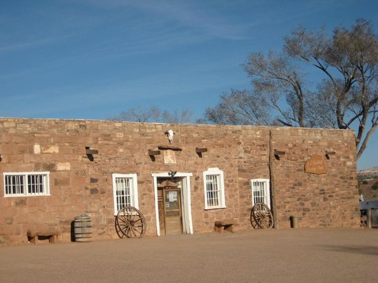 Hubbell Trading Post: Outside of the building