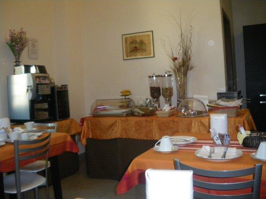Villino il Leone: sala colazione