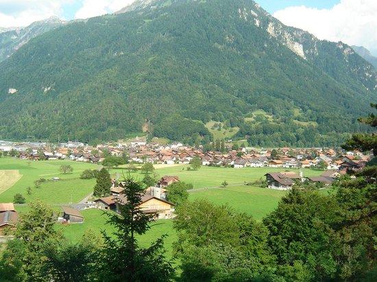 Credo Schloss Unspunnen: View from Credo of Wilderswil