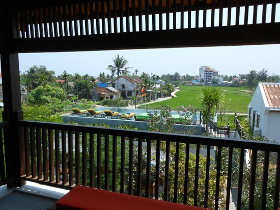 Hoi An Chic Hotel : Balcony view