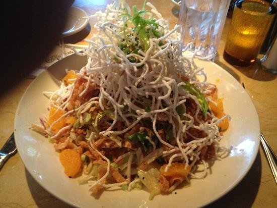 The Cheesecake Factory : Chinese chicken salad