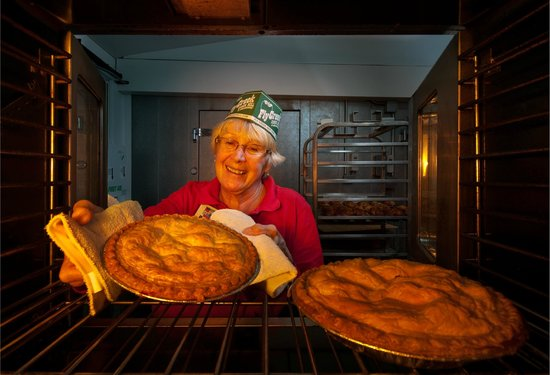 Fly Creek Cider Mill & Orchard: Mill-baked pies are our specialty