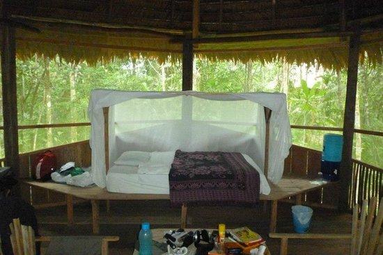 Refugio Altiplano Ayahuasca Retreats: bedroom, upstairs.