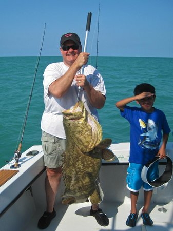 Enterprise Charters : One of our two Groupers, subsequently released