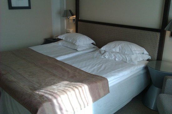 Elite Park Avenue Hotel : Another interior view of the beds.