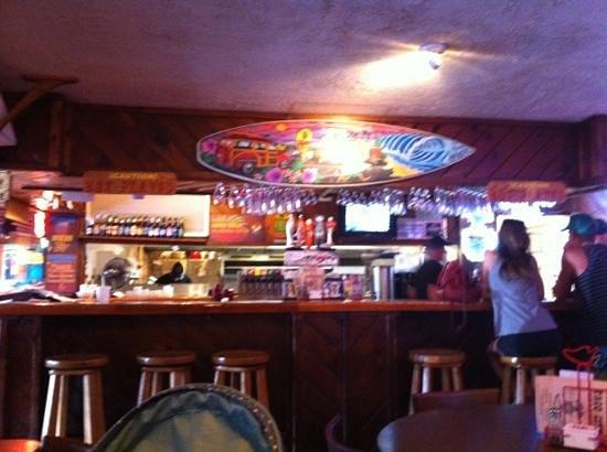 Taco City: the inside bar