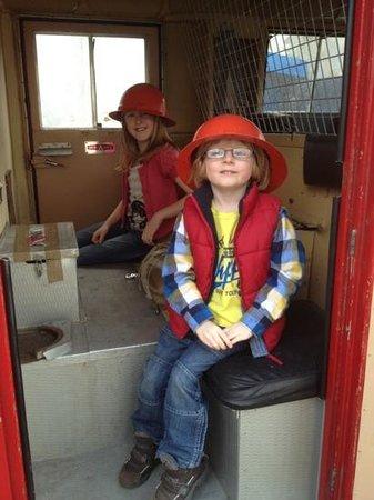 National Emergency Services Museum: Fireman Seb