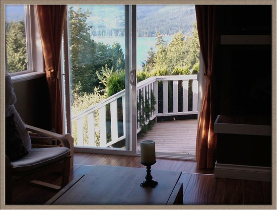 Above the Inlet B and B and Vacation Rentals: View from Leopard suite and private deck