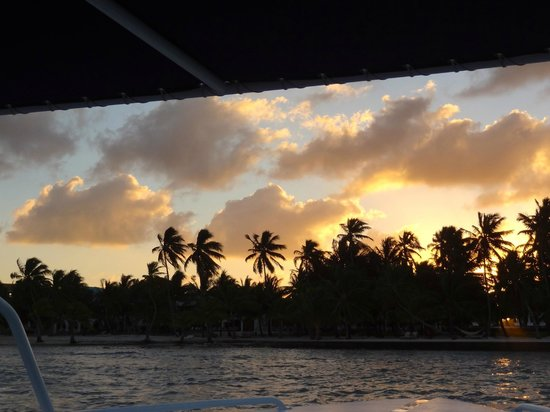 Matachica Resort & Spa: from the boat