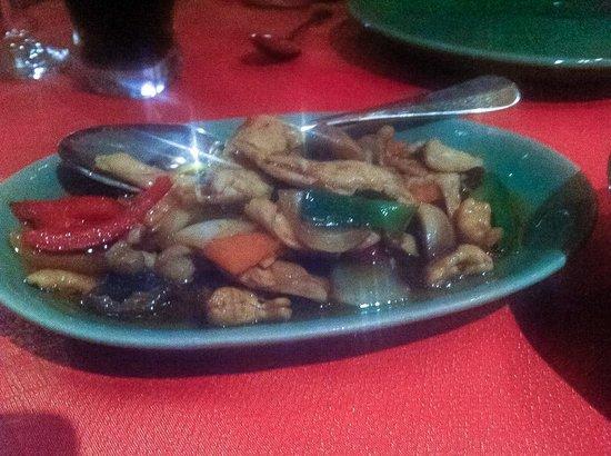 Doi Intanon Thai Restaurant: Chicken with cashew nuts