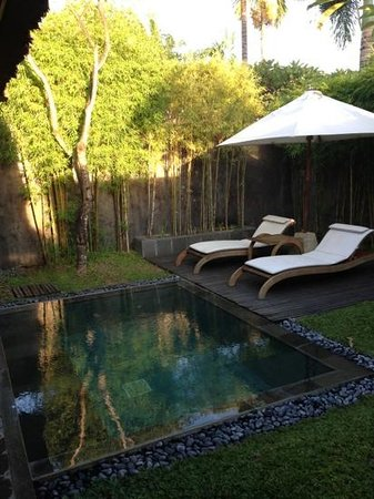 The Kayana Bali: plunge pool