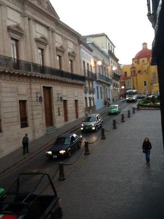 Hotel La Casona de Don Lucas: foto tomada desde la ventana de nuestro habitacion.
