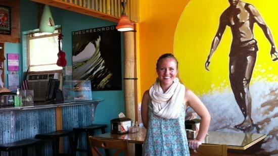 Green Room Cafe: Great Food, Nice People