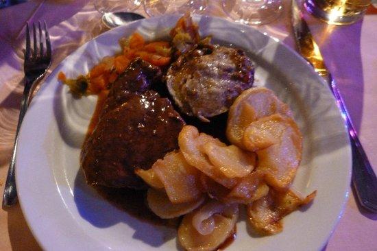 Benidorm Palace meal