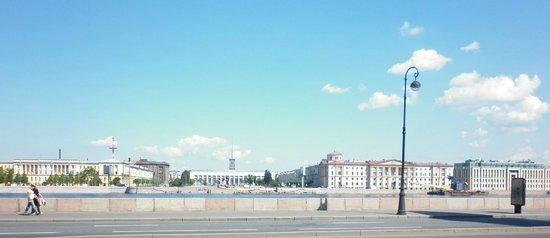 Finlyandsky Railway Station: Панорама куда как лучше чем ФинБал )))