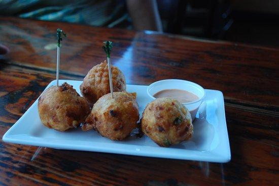 Sharkeez Tiki Bar : Conch Fritter Special - $5.00