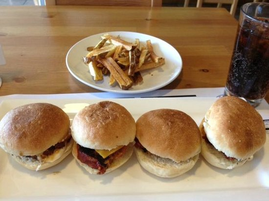 Beefcake: Sliders and Fries