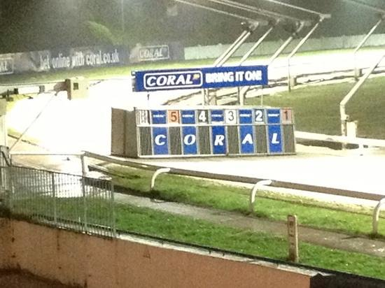 Coral, Brighton & Hove Greyhound Stadium: Night at the dogs .