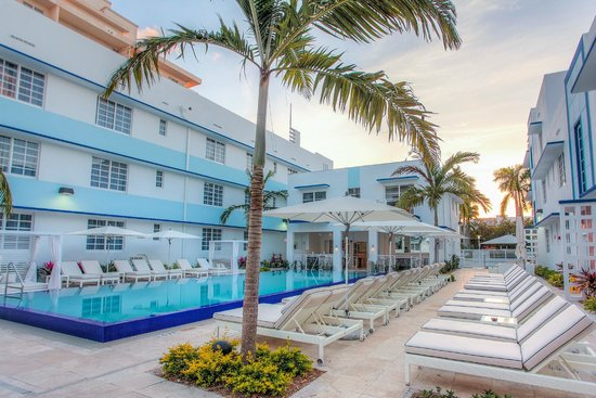 Pestana Miami South Beach: Swimming Pool Area