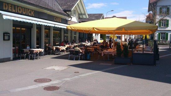 Cafe Runft: a terraço