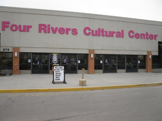 Four Rivers Cultural Center & Museum: Front of Four Rivers Cultural Center