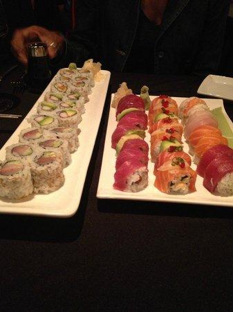 Hooked: several varieties of standard rolls, plus specialty rolls