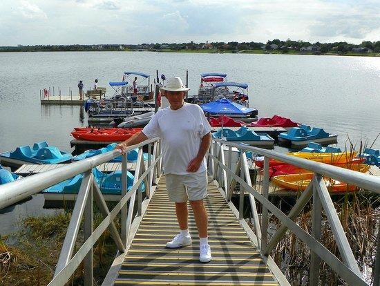 Westgate Lakes Resort & Spa: Dock