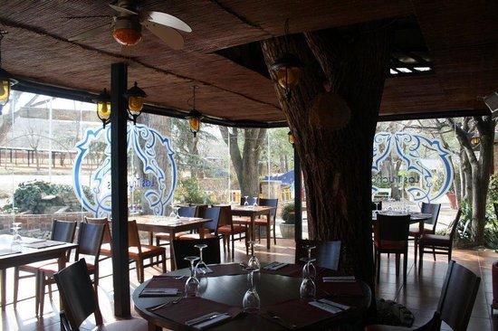Hotel Las Truchas: cafeteria
