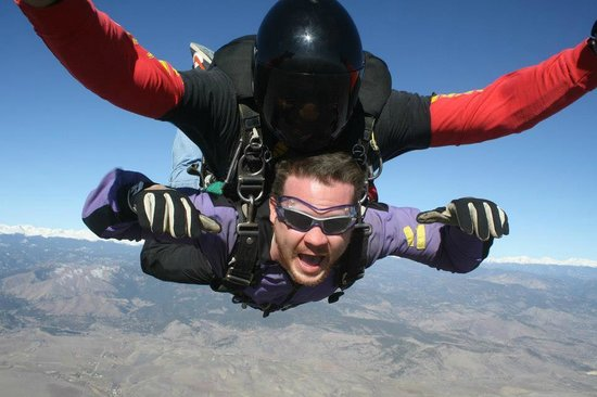 Mile-Hi-Skydiving : 120 MPH.....Oh Yeah!!