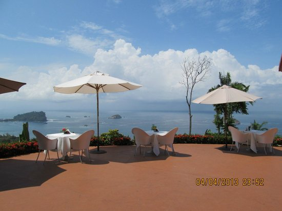 La Mariposa Hotel : View from the restaurant