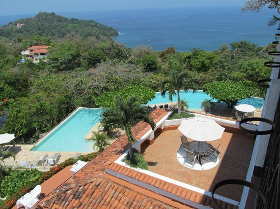 La Mariposa Hotel : View from our room