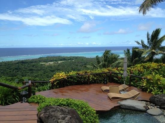 Laucala Island Resort : view from hilltop residence